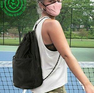 PINK Victorias Secret DRAWSTRING Bag Mesh Recycled